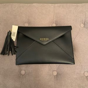 Guess Clutch with Charger Tassel